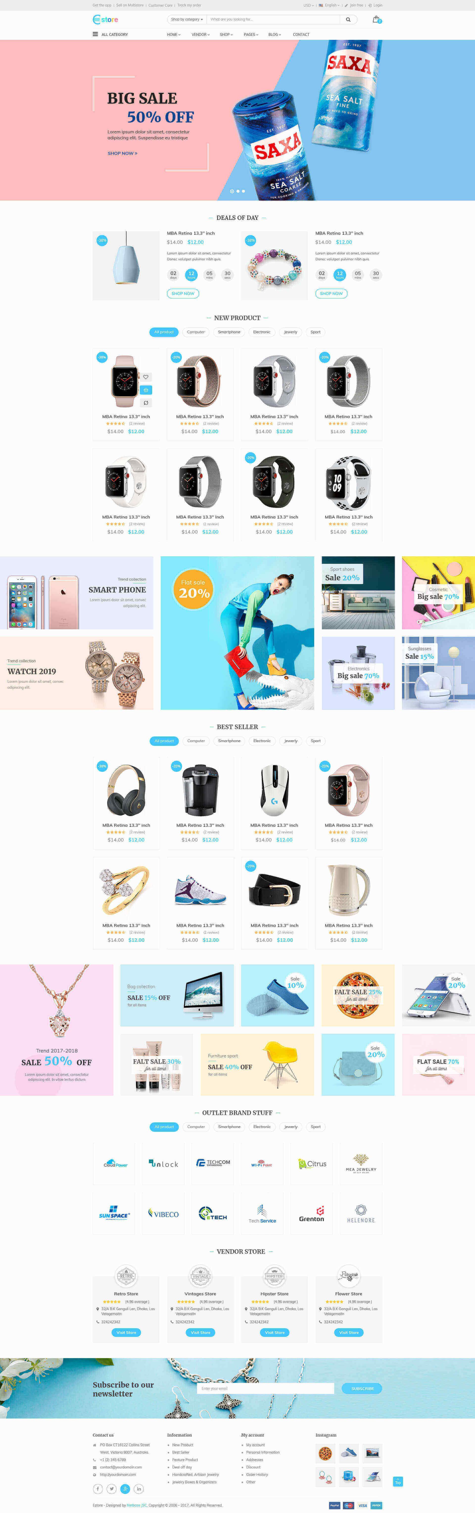 Ebay Homepage