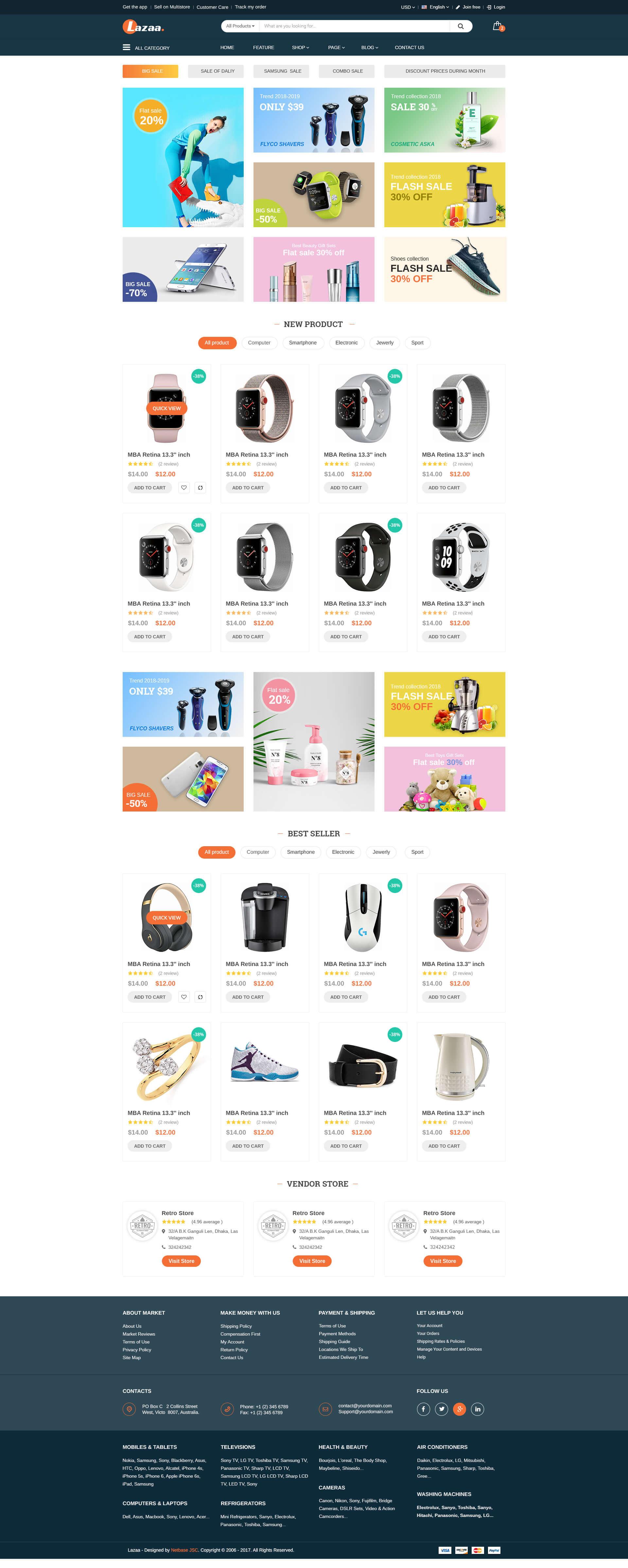 Lazada homepage