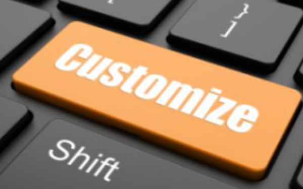Product content customization