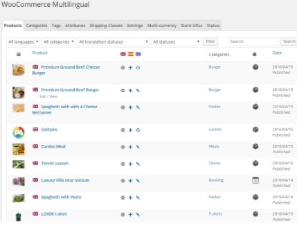 WOOCOMMERCE MULTI LANGUAGES