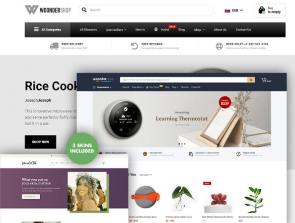Responsive WooCommerce Theme Development Services
