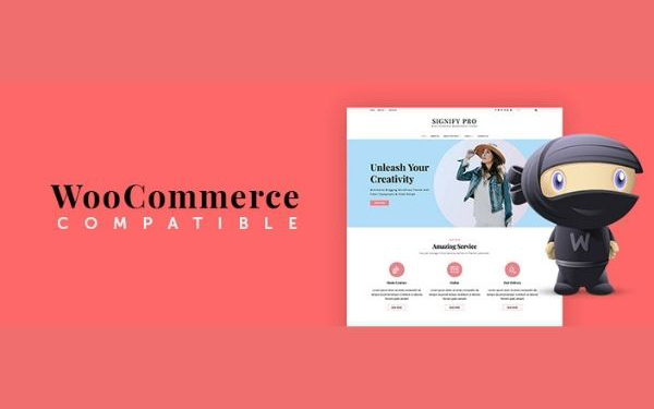 Compatible with WooCommerce Theme