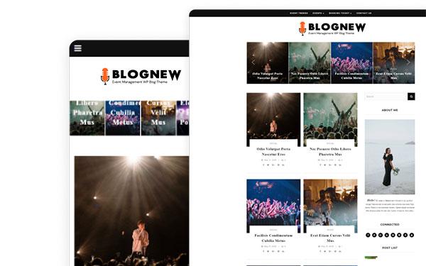 A simple wordpress blog theme