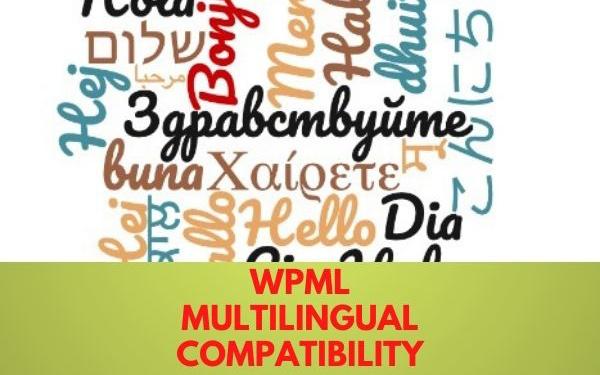 WPML Multilingual Compatibility