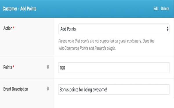 Add Reward Points