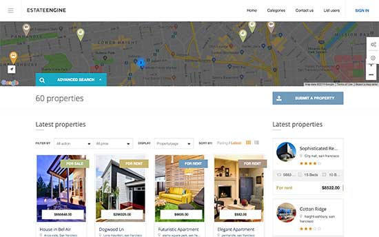 Real Estate Agency Listing