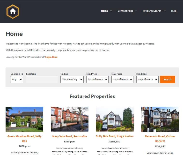 PropertyHive - a property and contact management tool