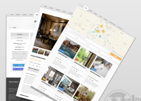 Property Management and Real Estate WordPress Themes