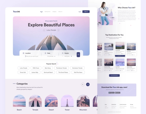 Travel & Tourism Ecommerce Booking