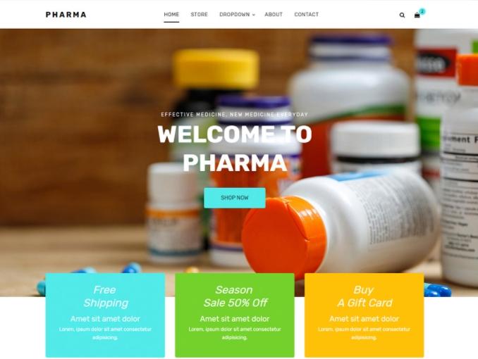 Medical & Pharmacy Ecommerce Store