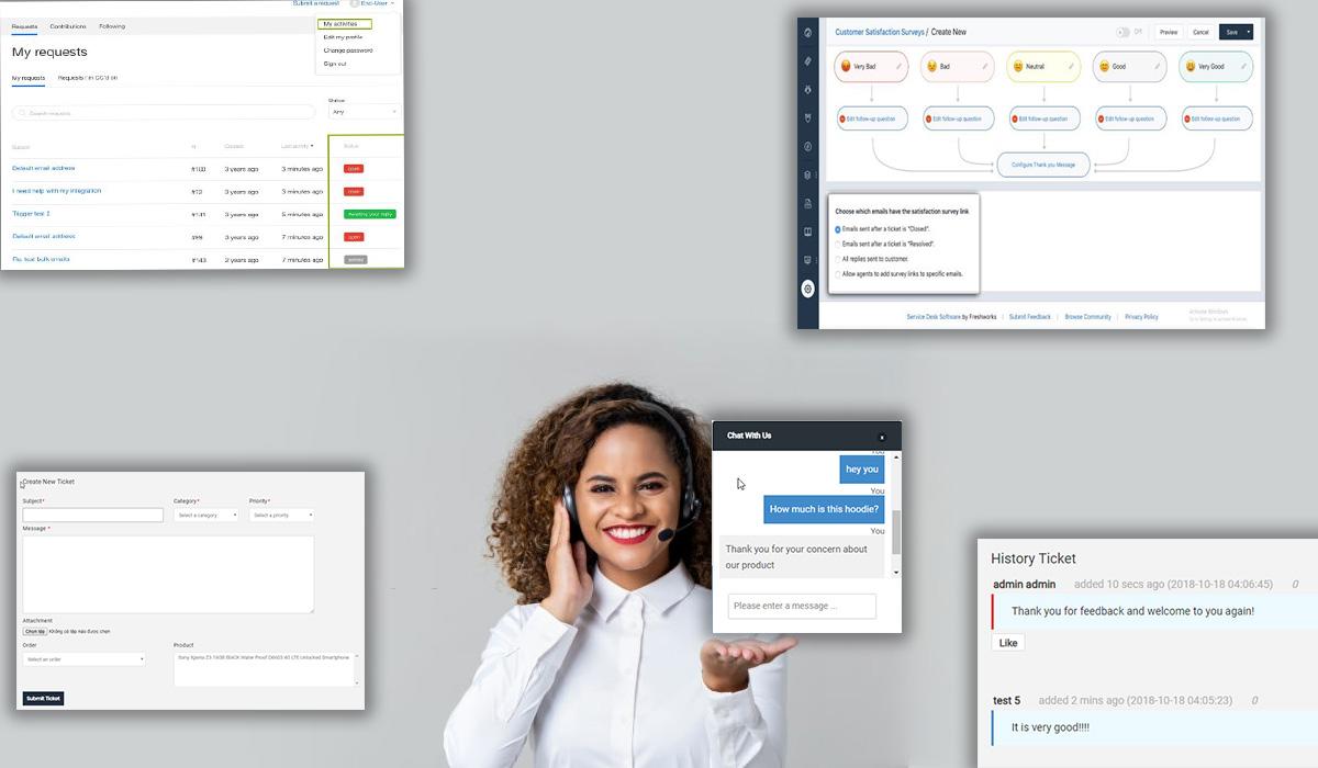Help Desk - Multistore Marketplace Magento 2 Workflow