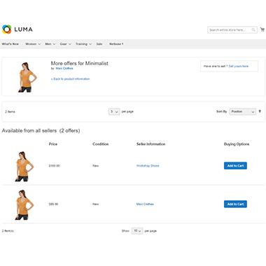 Compare Vendor Product