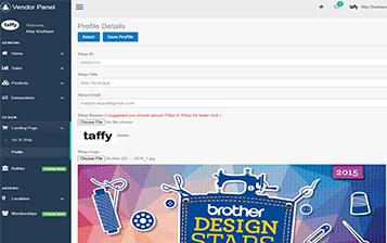 EDIT PROFILE SELLER ON MAGENTO WEBSITE