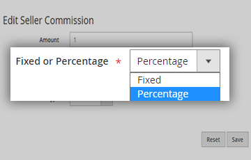 2 Types Of Fixed/Percentage Based Commission