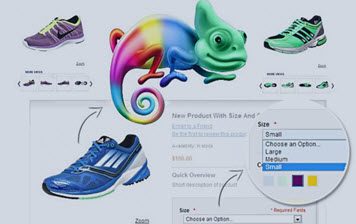 Use many product attributes on the Magento product page