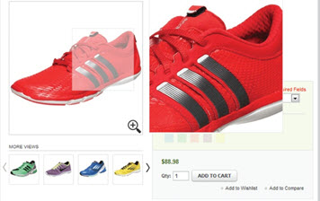 View image details with elegant zoom on Magento Product page
