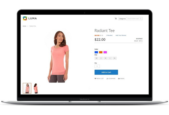 Advanced options on Magento 2 Color Swatch