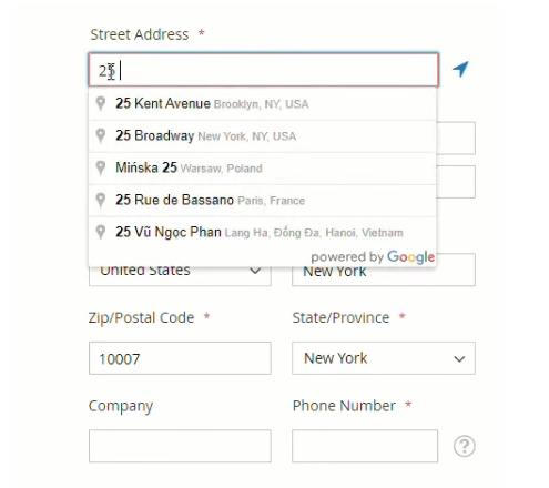 Google Suggest Auto-Fill